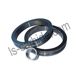 Hard alloy seal rings
